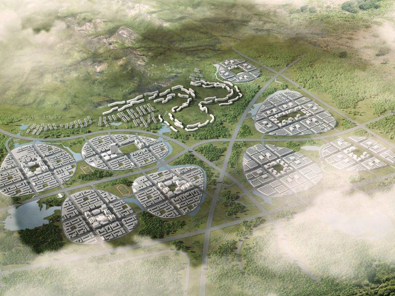 Chinese New Towns ieri e oggi, dall'ibrido storico al green