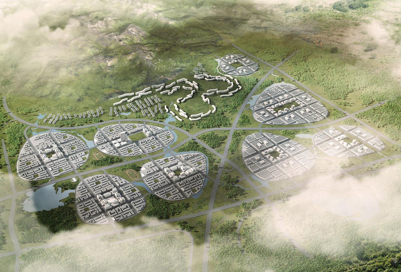 GDA_Chinese New Towns ieri e oggi, dall'ibrido storico al green