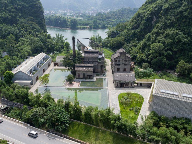 Vector Architects. Alila Yangshuo, Guangxi, Cina. L'ornamento attraverso l'iper-artigianalità