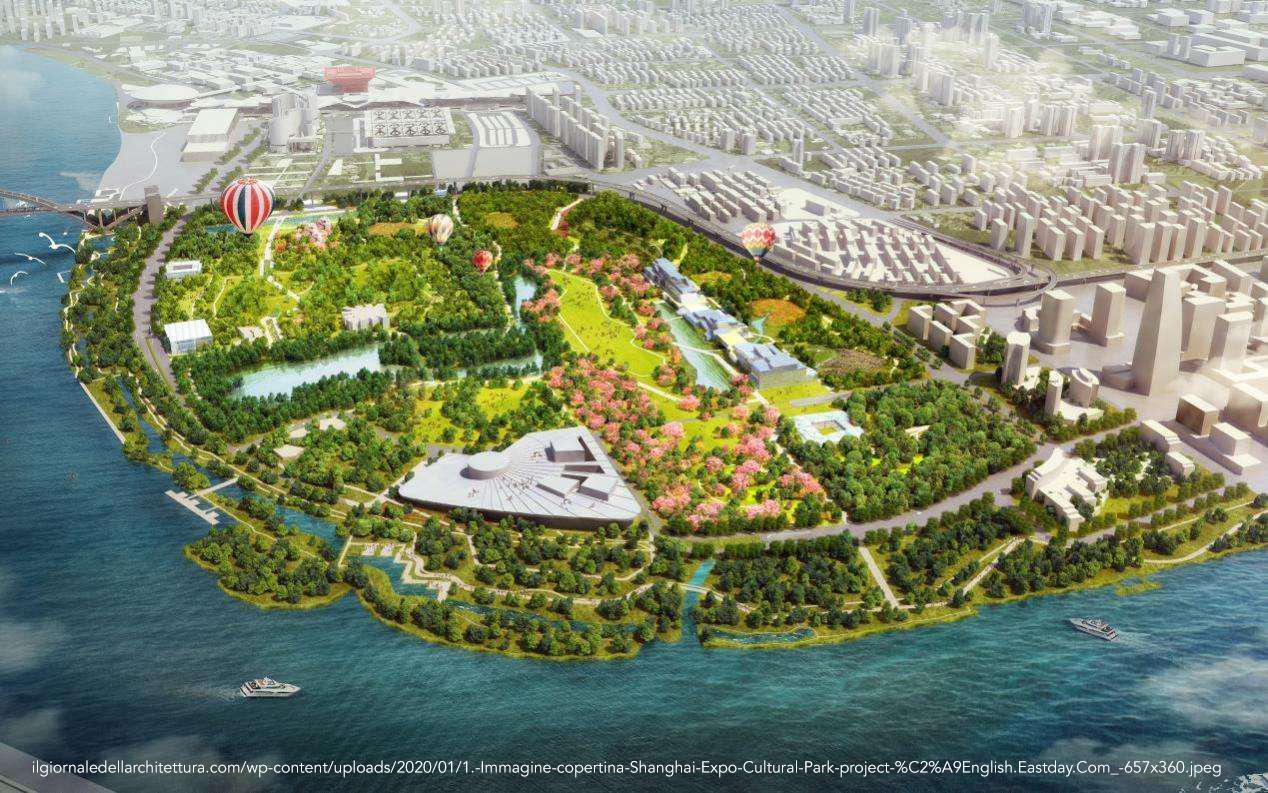 Shanghai expo cultural park