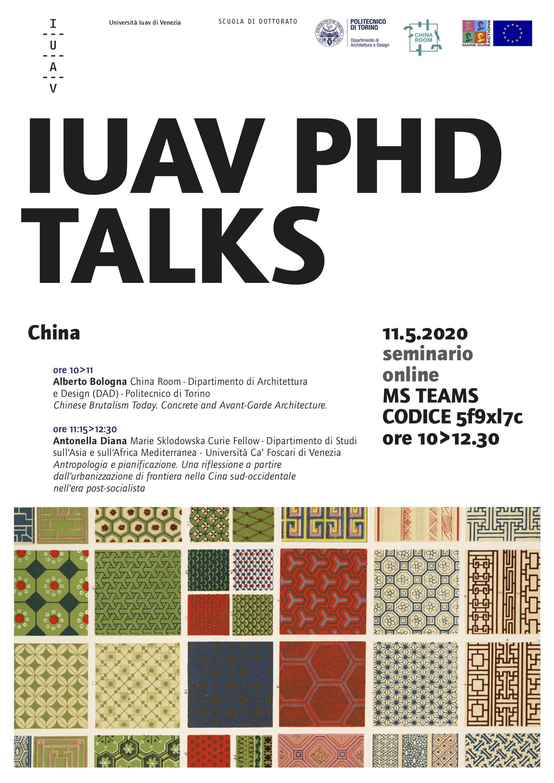 PhD Talks IUAV