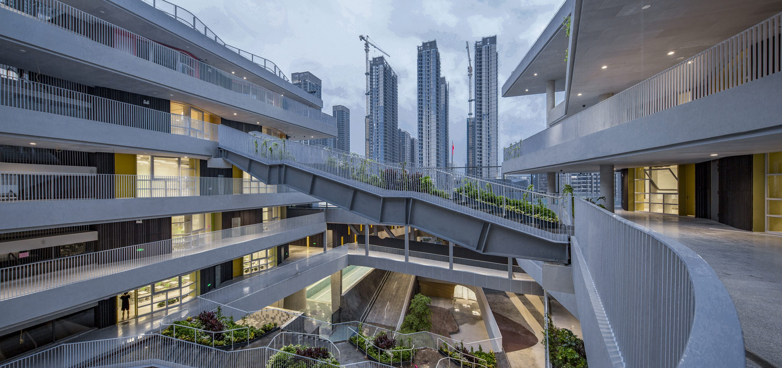31-The urban scenery of the valley couryard@Nicky Huang