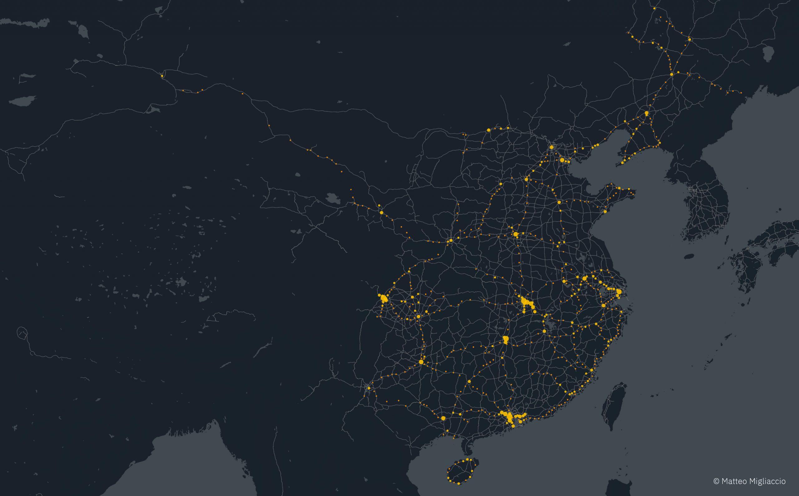 HD map stations HSR