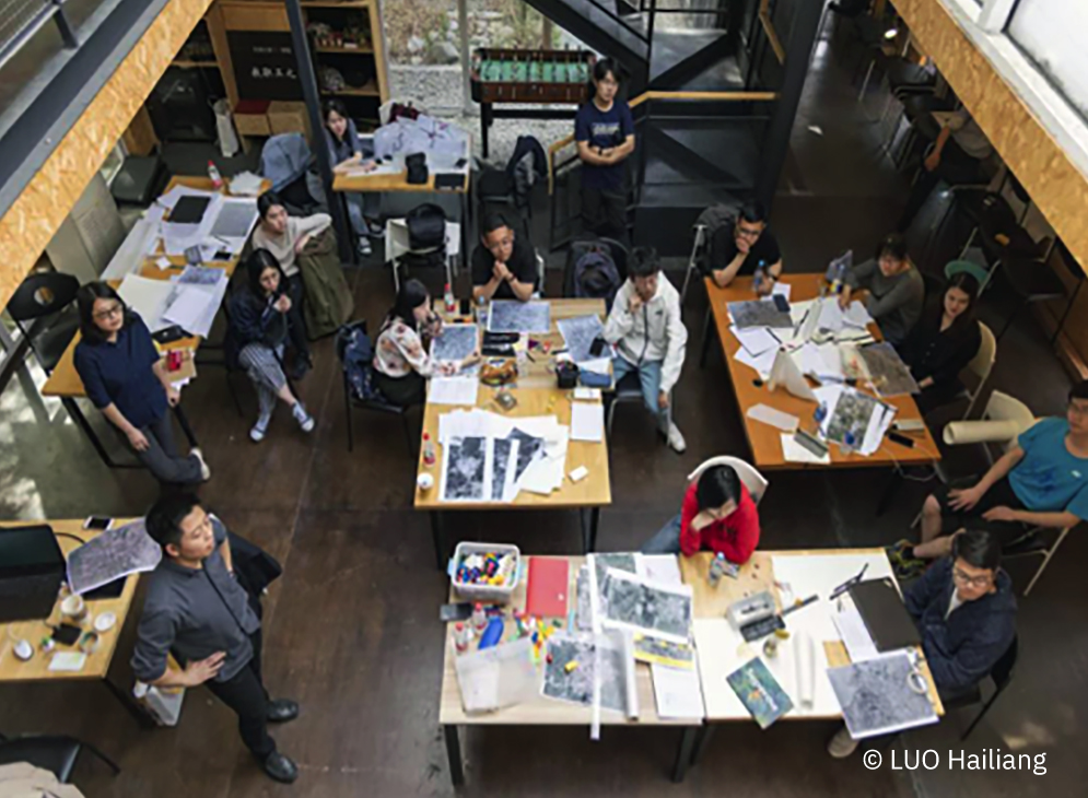 Students in Tianjin University. Credits LUO Hailiang1