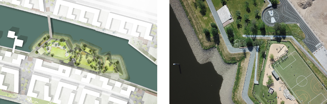 A Green Dock for the City of Docks: Atelier Loidl's Baakenpark, HafenCity Hamburg